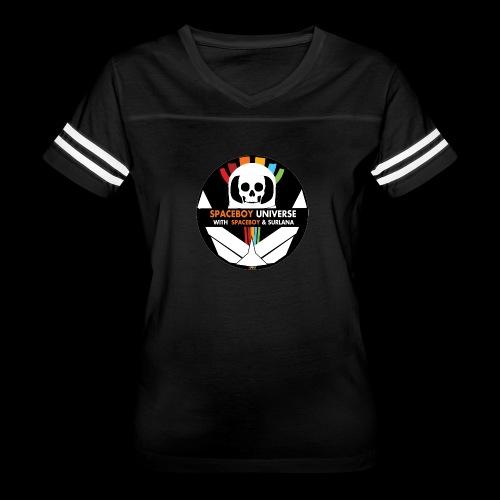 Spaceboy Universe Logo - Women's Vintage Sport T-Shirt