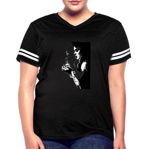 Fire Girl - Women's Vintage Sports T-Shirt