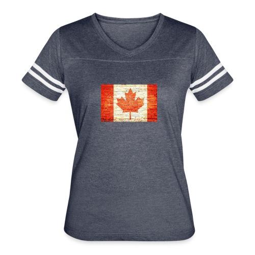 Canada flag - Women's Vintage Sport T-Shirt
