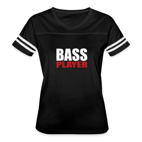 Bass Player - Women's Vintage Sport T-Shirt