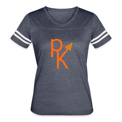 Plusklix Logo - Women's Vintage Sport T-Shirt