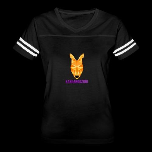 Kangaroozoo1 Logo & Name - Women's Vintage Sport T-Shirt