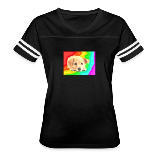 Puppy face - Women's Vintage Sport T-Shirt