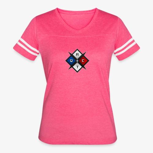 RTQC Logo - Women's Vintage Sport T-Shirt