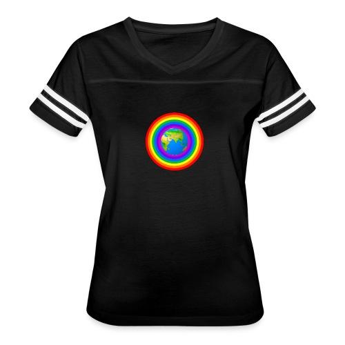 Earth rainbow protection - Women's Vintage Sport T-Shirt