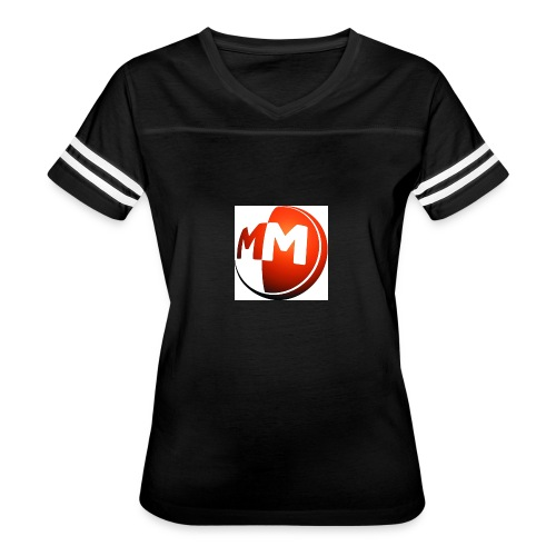 MM logo - Women's Vintage Sport T-Shirt