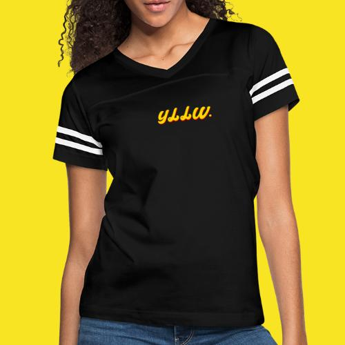YLLW CLASSIC - Women's Vintage Sport T-Shirt