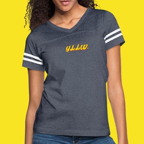 YLLW CLASSIC - Women's Vintage Sport T-Shirt