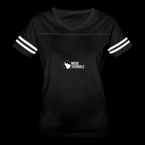 Music Tutorials Logo - Women's Vintage Sport T-Shirt