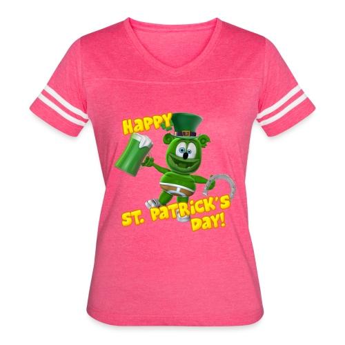 Gummibär (The Gummy Bear) Saint Patrick's Day - Women's Vintage Sport T-Shirt