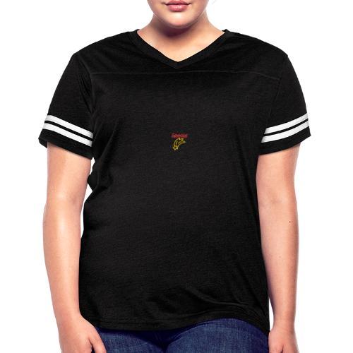 Special Star Design - Women's Vintage Sports T-Shirt