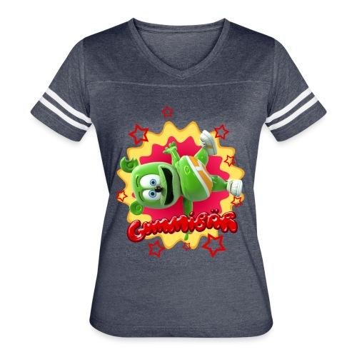 Gummibär Starburst - Women's Vintage Sport T-Shirt