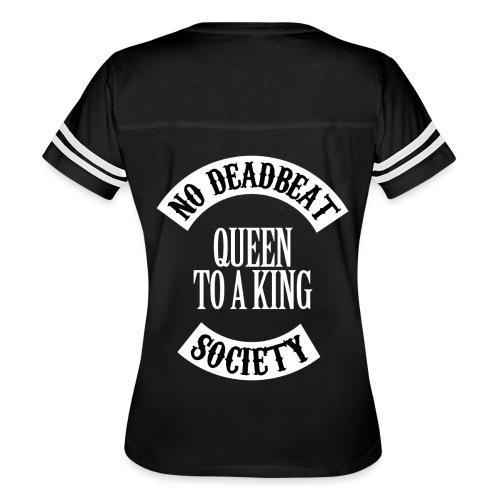 Queen To A King T-shirt - Women's Vintage Sport T-Shirt