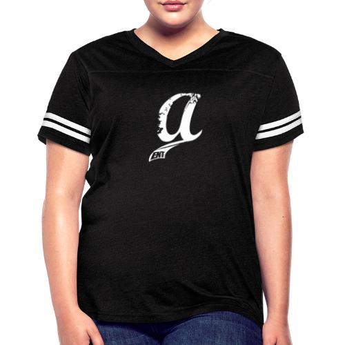 Already & Sleepy Logo White - Women's Vintage Sport T-Shirt