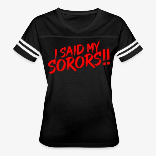My Sorors Red - Women's Vintage Sport T-Shirt