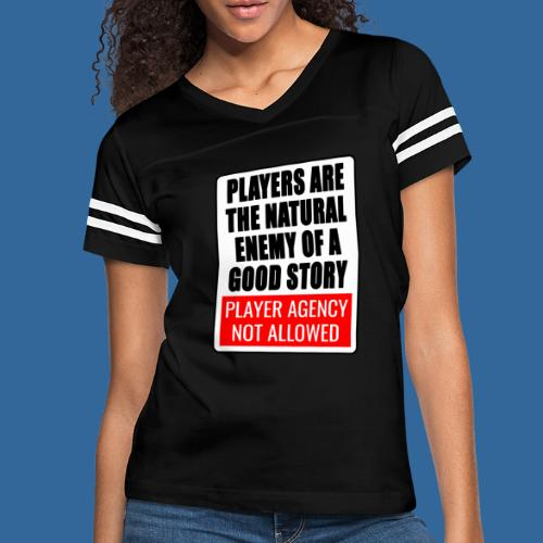 Player agency not allowed - Women's Vintage Sport T-Shirt