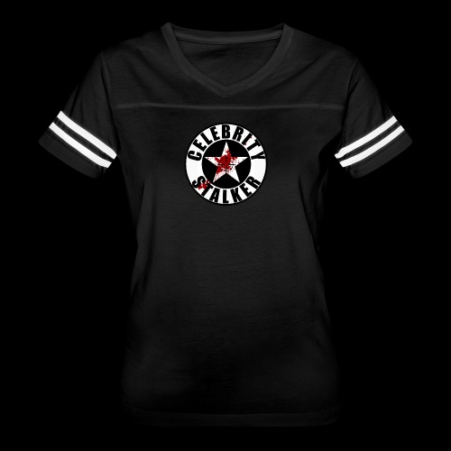Celebrity Stalker Bloody Circle Logo - Women's Vintage Sport T-Shirt