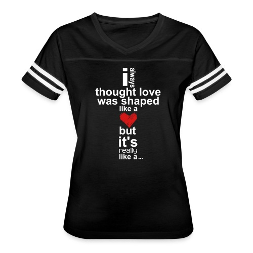 Cross Love - Women's Vintage Sport T-Shirt