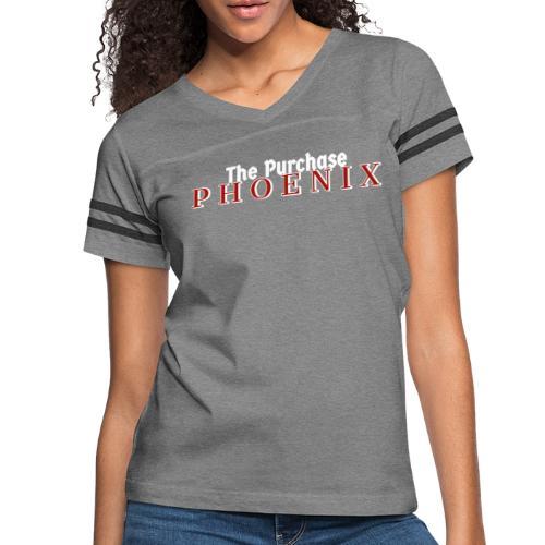 White Purchase Phoenix logo - Women's Vintage Sports T-Shirt