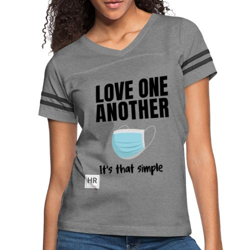Love One Another - It's that simple - Women's Vintage Sport T-Shirt
