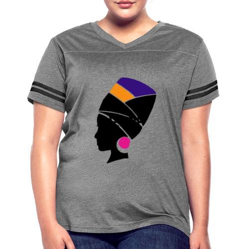 Original Kulture Colorful Sister Print - Women's Vintage Sport T-Shirt