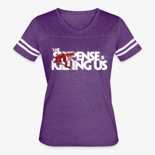 Suspense Is Killing Us Red Eye Logo - Women's Vintage Sport T-Shirt