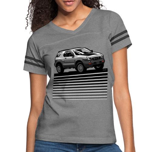 VX SUV Lines - Women's Vintage Sport T-Shirt
