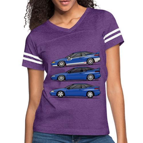 Subie Alcyone SVX Laguna Blue Pearl Trio - Women's Vintage Sport T-Shirt