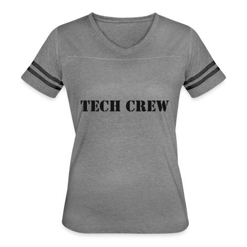 Tech Crew - Women's Vintage Sports T-Shirt