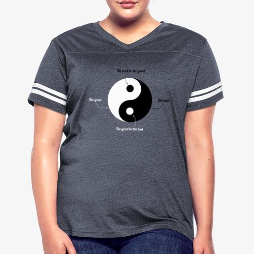 Ying-Yang - Women's Vintage Sport T-Shirt