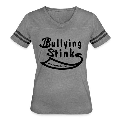 Bullying Stinks! - Women's Vintage Sport T-Shirt
