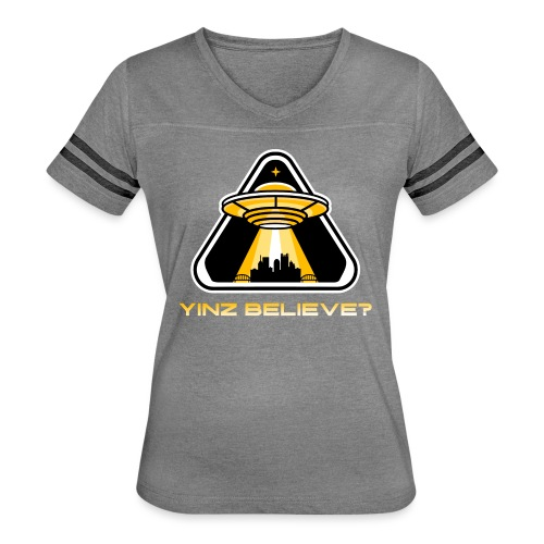 Yinz Believe? - Women's Vintage Sport T-Shirt