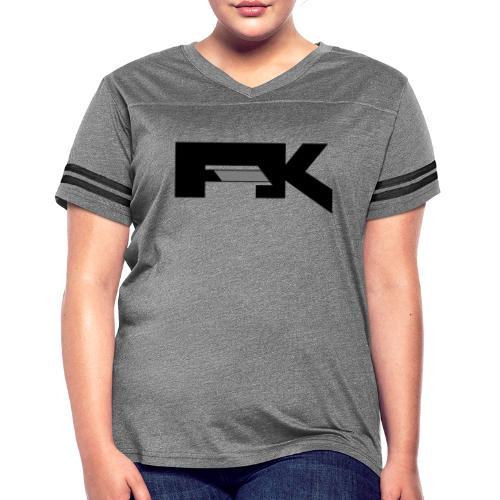 Chunky Symbol - Women's Vintage Sports T-Shirt