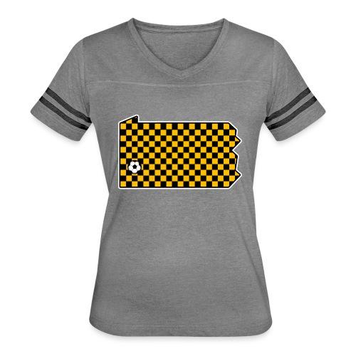Pittsburgh Soccer - Women's Vintage Sport T-Shirt
