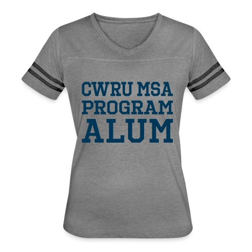 CWRU MSA Program Alum - Women's Vintage Sport T-Shirt