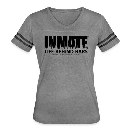 INMATE SmallCanvas - Women's Vintage Sports T-Shirt