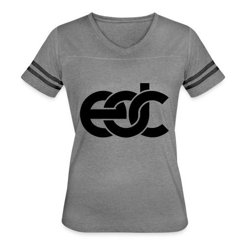 EDC Electric Daisy Carnival Fan Festival Design - Women's Vintage Sport T-Shirt