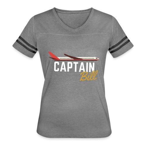 Captain Bill Avaition products - Women's Vintage Sport T-Shirt