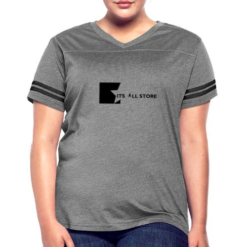 Its All Store logo - Women's Vintage Sports T-Shirt