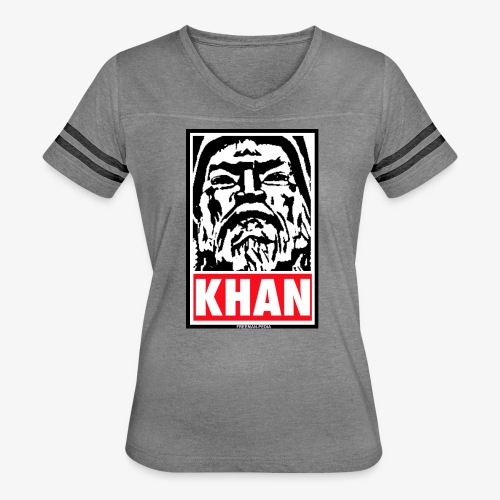Obedient Khan - Women's Vintage Sport T-Shirt