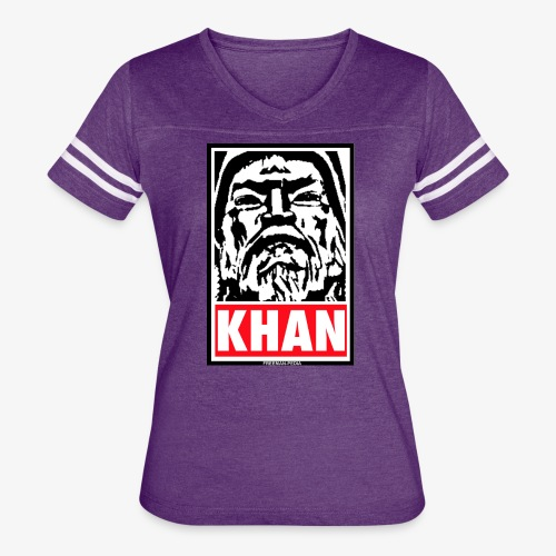 Obedient Khan - Women's Vintage Sport T-Shirt