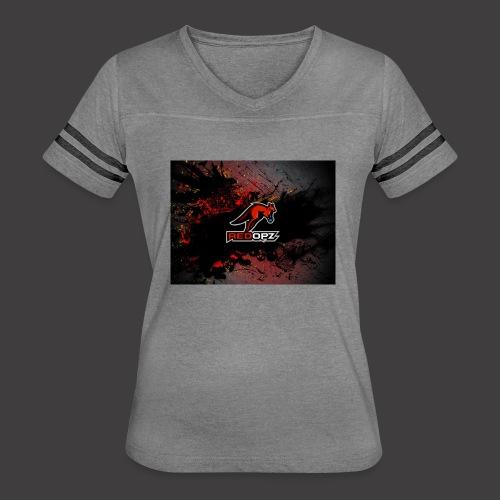 RedOpz Splatter - Women's Vintage Sport T-Shirt