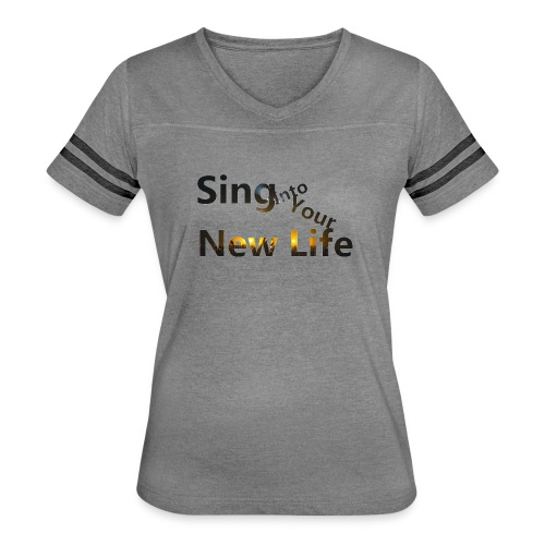 Sing in Brown - Women's Vintage Sport T-Shirt