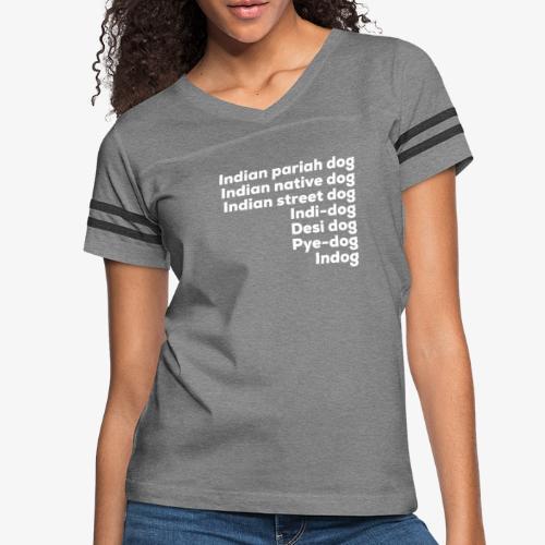 Indian Pariah Dogs - Women's Vintage Sport T-Shirt