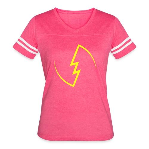 Electric Spark - Women's Vintage Sport T-Shirt