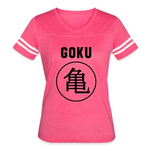 GOKU - TURTLE - Women's Vintage Sport T-Shirt