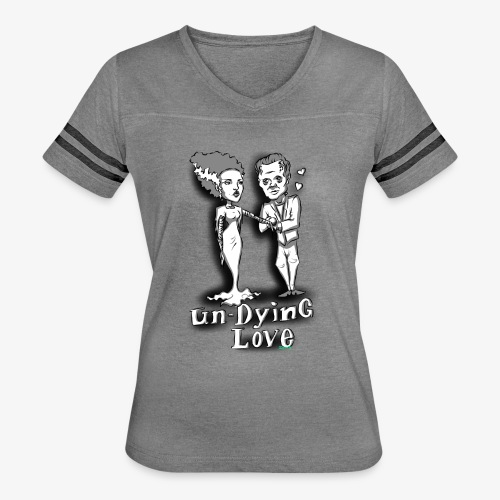mr and mrs frank final - Women's Vintage Sport T-Shirt