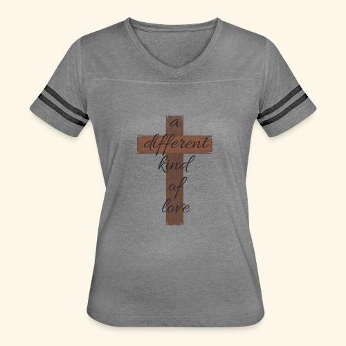 Different kind of love - Women's Vintage Sport T-Shirt
