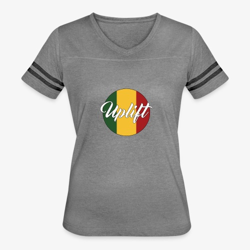 Uplift Rasta Basic // - Women's Vintage Sport T-Shirt