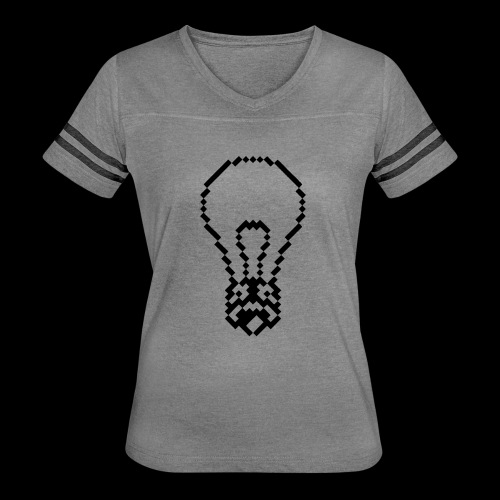 lightbulb - Women's Vintage Sport T-Shirt